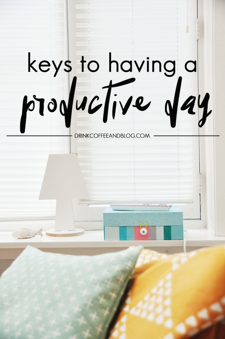 keys-to-a-productive-day